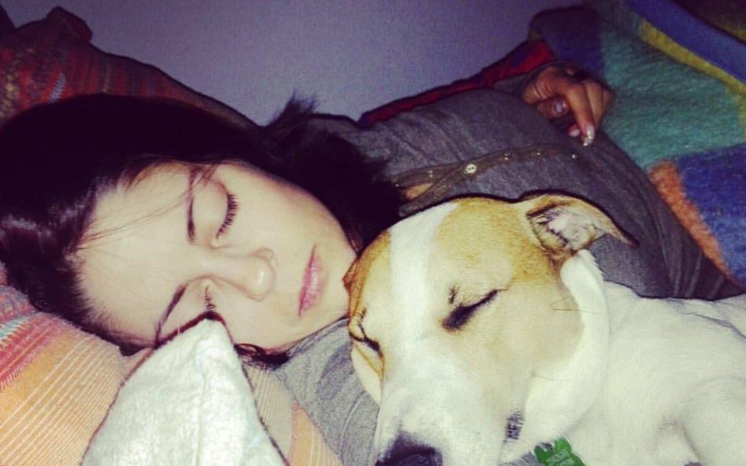 Dormire con il proprio animale