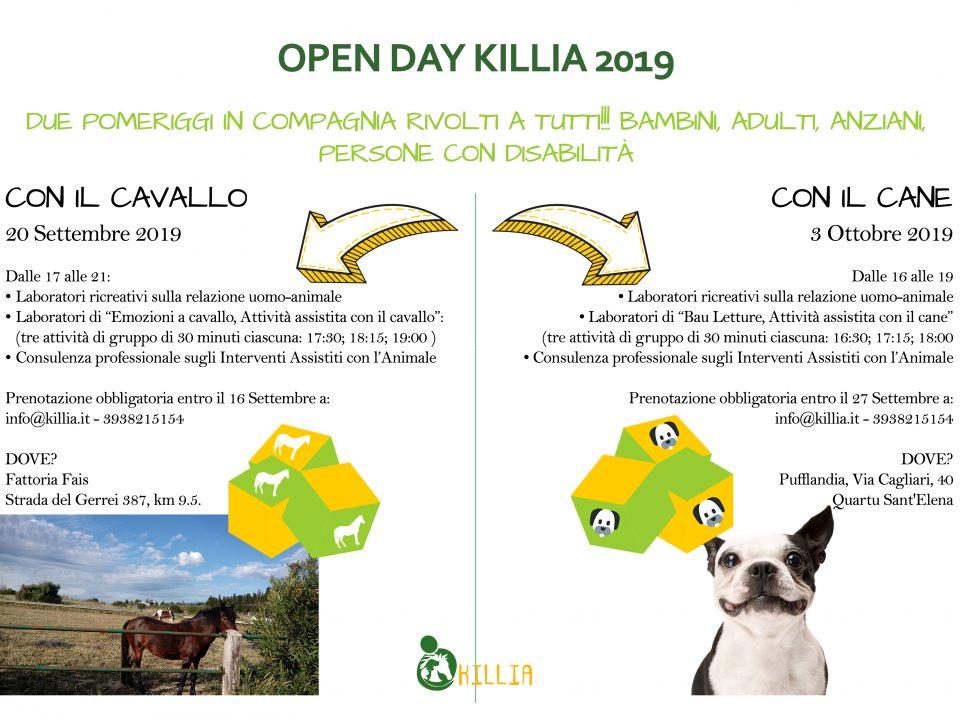 Open day Killia 2019